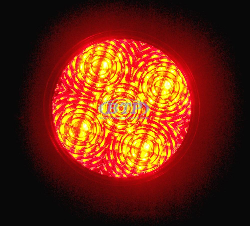 Led Round Red 4 U0026quot  Sealed Light