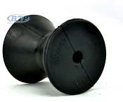 3 inch Rubber Bow Roller for Boat Trailer Winch Stand
