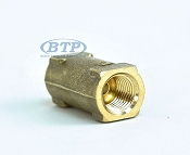 Boat Trailer Hydraulic Brake Hose Union Fitting Female Inverted Flare