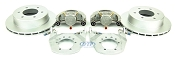 Kodiak Boat Trailer Slip-on Disc Brake Kit Dacromet Stainless 6 Lug