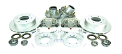 Kodiak Trailer Slip-on Disc Brake Kit DAC/ Stainless 6 Bolt w/ Hubs
