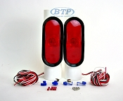 Incandescent Pipe Light Kit for Boat Trailer Guide Poles