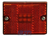 LED Amber Single Stud Sidemarker Light