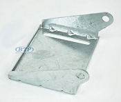 8 inch Galvanized Keel Roller Bracket for Boat Trailer
