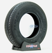 Trailer Tire ST225/75R15 Radial 15 in Load Range D 2540lb by Loadstar