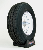 Trailer Tire ST235/85R16 on Modular Steel Painted 8 Lug Wheel by Loadstar