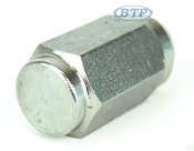 Stainless Steel Trailer Lug Nut 1/2-20 Thread Acorn SOLID STAINLESS STEEL
