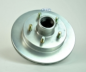 UFP Boat Trailer Replacement 9.75 in Zinc 5 Bolt Integral Hub & Rotor