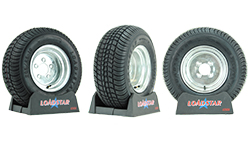 10 inch Trailer Tire and Wheel