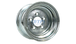 10 in Galvanized Trailer Wheel