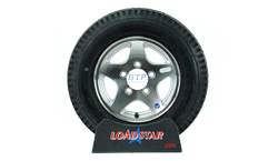 12 inch Aluminum Wheel and Tire