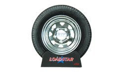 12 inch Galvanized Wheel and Tire