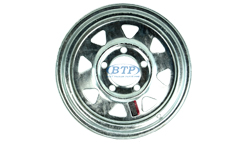 13 inch Galvanized Trailer Wheel
