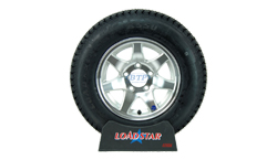 13 inch Aluminum Wheel and Tire
