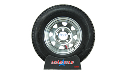 13 inch Galvanized Wheel and Tire