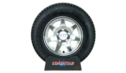 14 inch Aluminum Wheel and Tire