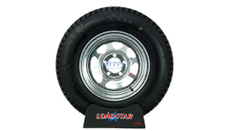 14 inch Galvanized Wheel and Tire
