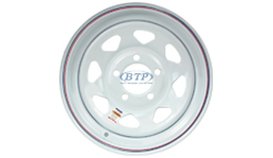 14 inch Painted Trailer Wheel
