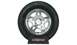 15 inch Aluminum Wheel and Tire