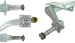 Trailer Axles And Axle Parts
