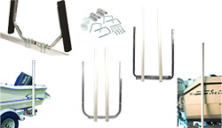 Boat Trailer Guide Pole Sets and Guide Post Kits
