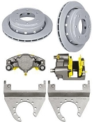 DEEMAXX 6 Lug Maxx Coated Caliper and Rotor Kit For 6000lbs Axles