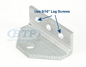 Aluminum Bunk Bracket Replacement Swivel Top for Bolster Brackets