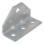 Galvanized Replacement Swivel Top for Adjustable Bolster Bunk Brackets 1/8