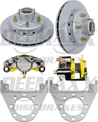 DEEMAXX Integral Brake Kit 5 Lug with Stainless Steel Calipers