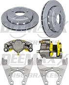 DEEMAXX Maxx Coated Calipers with Maxx Coated Rotors 5Bolt SlipOn