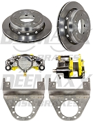 DEEMAXX Stainless Steel Caliper and Rotor Kit For 6000lbs Axles