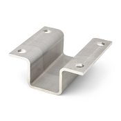 2 inch Stainless Steel Boat Trailer Hat Bracket for Boat Trailer V Guides and Bunk Brackets