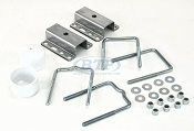 Boat Trailer Universal Guide Pole and Post Mounting U Bolt Kit
