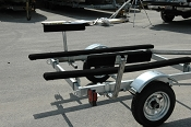 Boat Trailer Bunk Board Side Bunks Guide On Rails 2 foot Long