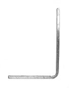 Boat Trailer Square Hot Dipped Galvanized Guide On Pole