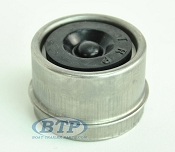 1.98 Accu-Lube Dust Cap Stainless Steel Fits Most 5 Lug Trailer Hubs