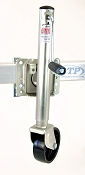 Boat Trailer Swivel Jack 1000lb Capacity Bolt On Zinc Plated