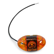 Amber Boat Trailer Submersible LED Side Marker Light, S21 by TecNiq