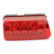 Boat Trailer LED Brake and Turn Signal Light Right Hand Replacement