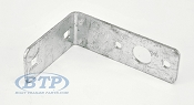 Galvanized Boat Trailer Tail Light Bracket L Shape Standard Mount