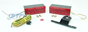 LED Submersible Boat Trailer Light Kit Low Profile
