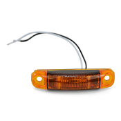 Boat Trailer Side Marker Light LED Amber S18 TecNiq