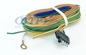 Boat Trailer Light Wiring Harness 5 Flat 35ft to re-wire Trailer Lights and Disc Brakes