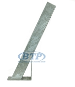 Boat Trailer Winch Post 3 inch x 4 inch x 35 inch Tall Galvanized