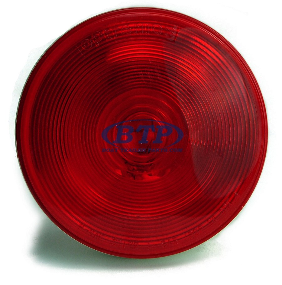 "4"" Round Sealed Three Function Incandescent Trailer Light"