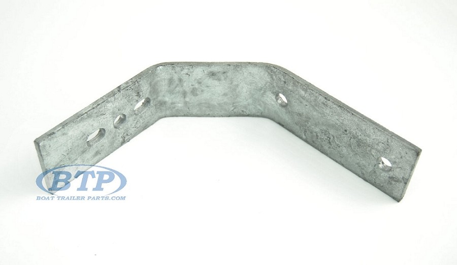 Boat Trailer Fender Bracket with Double Bend Small for Single Axle