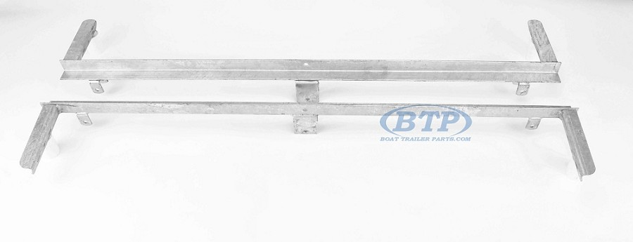 Boat Trailer Leaf Spring Slider Tandem Axle PAIR For 20 Double Eye Springs
