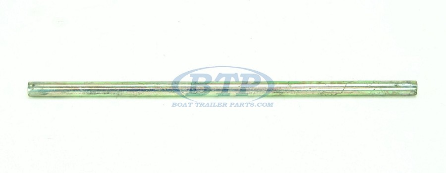 Zinc Plated Boat Trailer Roller Shaft 19 in long 5/8 inch Diameter