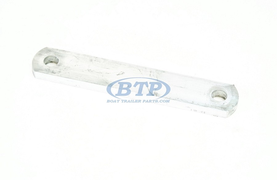 "Aluminum Frame Plate 8 1/4"" Overall Length for 1/2"" U Bolt or Bolts"